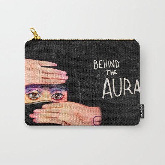 Behind The Aura Carry-All Pouch