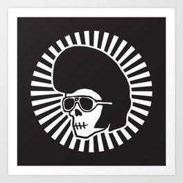 LORDCherry Skull Art Print