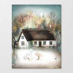 Peta's House Canvas Print