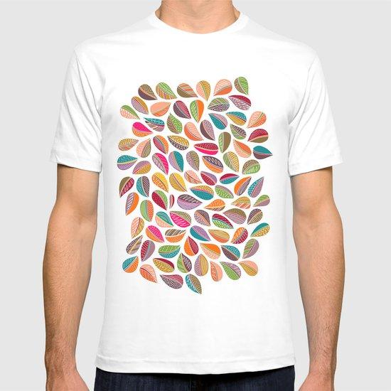Leaf Colorful T-shirt