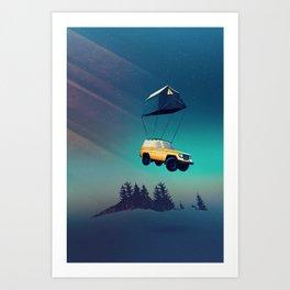 Darling, this is Magic! Art Print