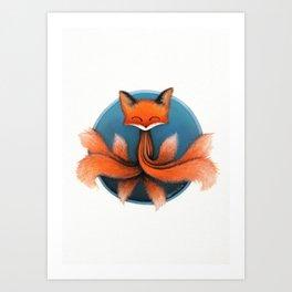 The Octofox Art Print