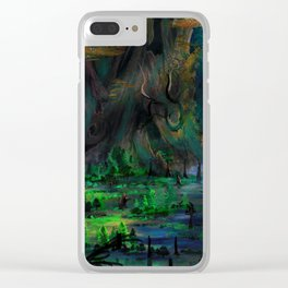 The Ancient Swamp Clear iPhone Case