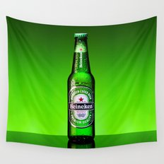 Ice cold Heineken Wall Tapestry