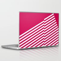 bands Laptop & iPad Skins featuring Red Bands R. by blacknote