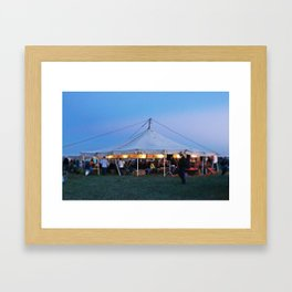 The Story Tent Framed Art Print
