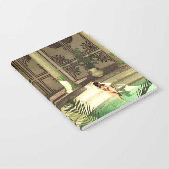 Greek bath beauties Notebook