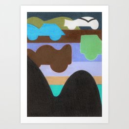 How about Camelbacks? Art Print