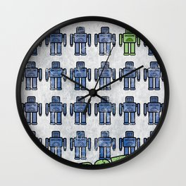 Robotto! Wall Clock