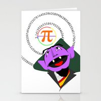 pi Stationery Cards featuring Count Pi by tuditees