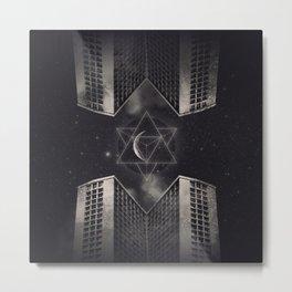 Dark space between two worlds Metal Print