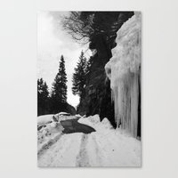 switzerland Canvas Prints featuring Switzerland by Anita Hsieh