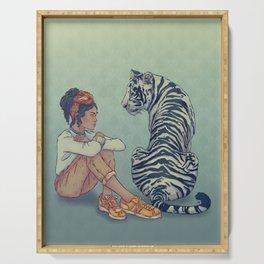 Signe du Tigre Serving Tray