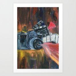 Lights, Camera, Action Art Print