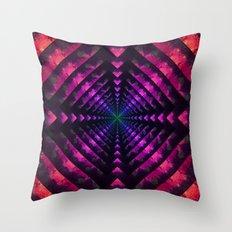 Spectrum Dimension Throw Pillow
