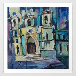 Church 1961 Art Print