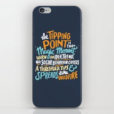 Tipping Point iPhone & iPod Skin