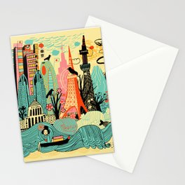 Tokyo in Japan Stationery Cards
