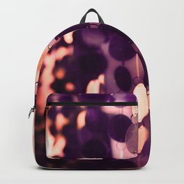 GLAM CIRCLES #Purple #1 Backpack