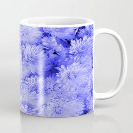 Periwinkle Floral Garden Coffee Mug
