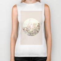 magnolia Biker Tanks featuring Magnolia by Roman Bratschi