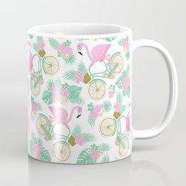 Tropical Bike Pattern Coffee Mug