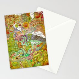 The fires of hell Stationery Cards