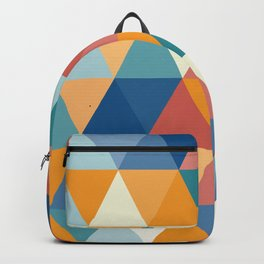 Colorful Triangles Backpack