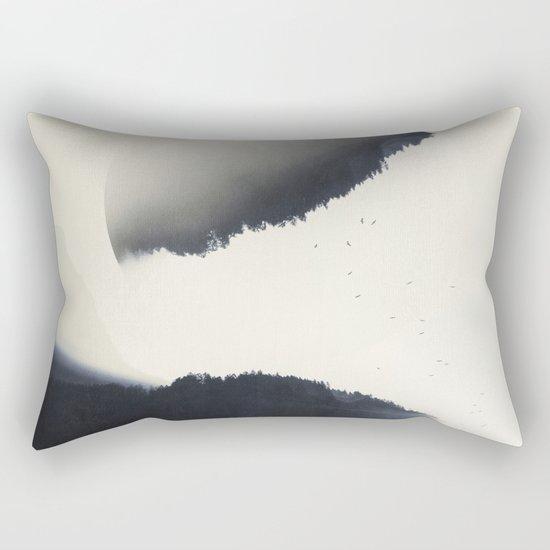 out of balance Rectangular Pillow