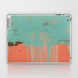 Infinity abstract art print pink turqoise Laptop & iPad Skin