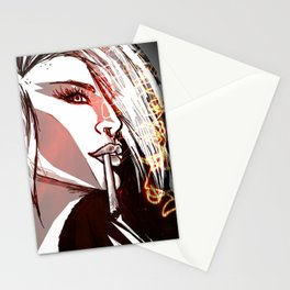 Graphic Night Stationery Cards