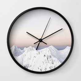 Touching the Sky Wall Clock