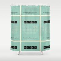 politics Shower Curtains featuring Politics by politics