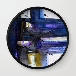 A Dream Creation No. 2g by Kathy Morton Stanion Wall Clock