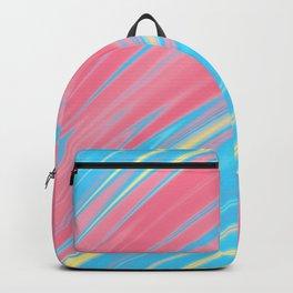 Genderflux Pride Rippling Satin Texture Backpack