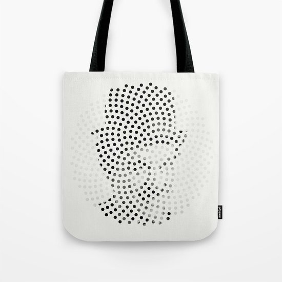 Optical Illusions - Iconical People 1 Tote Bag