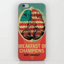 Breakfast of Champions iPhone Skin