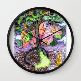Hi(gh)biscus Magic Wall Clock