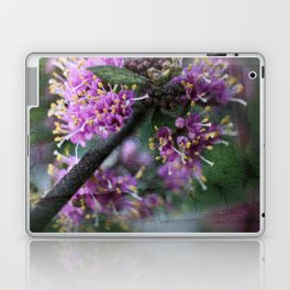 Callicarpa bodinieri blossoms Laptop & iPad Skin