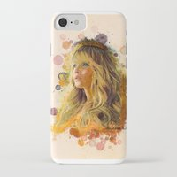 jennifer lawrence iPhone & iPod Cases featuring Jennifer Lawrence II by Rene Alberto