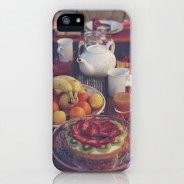 Food photography, fruit still life, kitchen wall art, bed & breakfast, food porn, fine art iPhone Case
