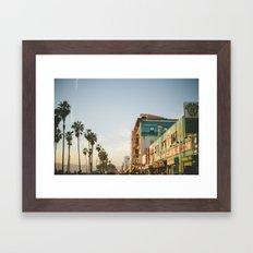 Venice Beach Boardwalk Framed Art Print