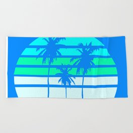 Yearning for L.A. Beach Towel