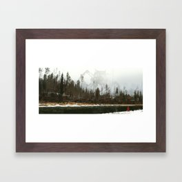 1920 - iron wolf Framed Art Print