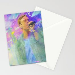 Chris Martin-Coldplay-Digital Impressionism Stationery Cards