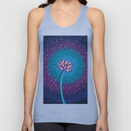 You Can and You Will - Lotus Unisex Tank Top