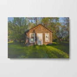 Abandoned Shack, Washburn, North Dakota 1 Metal Print