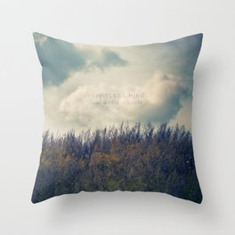 Limitless Mind Throw Pillow