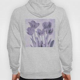 Tulips (b&w) Hoody
