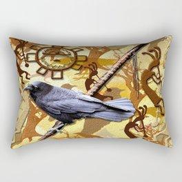 Kokopelli Raven - A Tribute to Music-lovers Rectangular Pillow